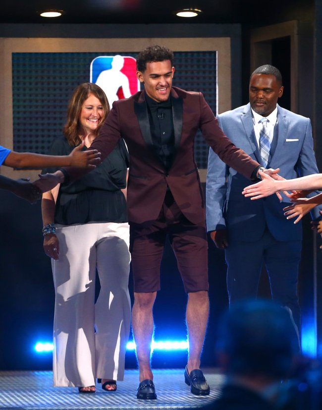 Trae Young NBA Draft
