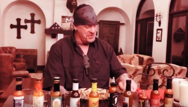 Undertaker Hot Ones