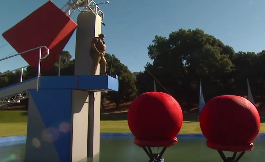 'Wipeout' contestant dies moments after completing crazy obstacle course