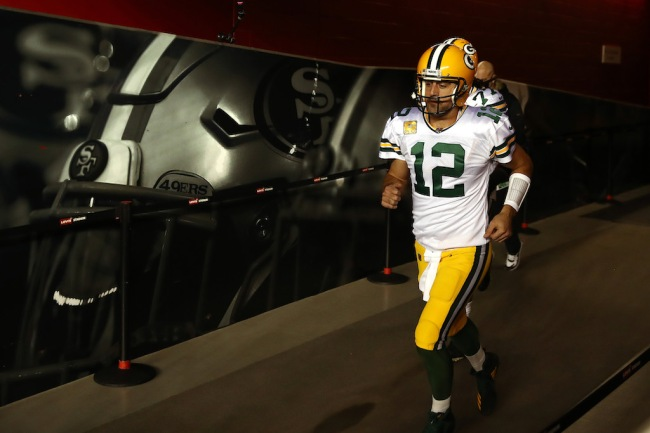 NFL analyst Chris Simms thinks Aaron Rodgers needs to be teamed up with Kyle Shanahan on the San Francisco 49ers next season