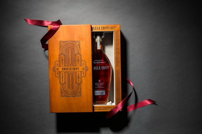 Angel's Envy 2020 Cask Strength Kentucky Straight Bourbon Whiskey Finished in Port Barrels
