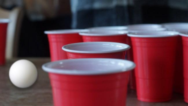 northwestern studnets beer pong ban