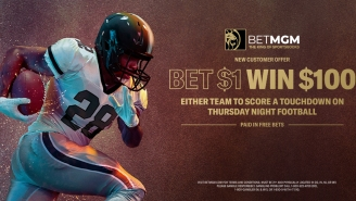 BetMGM Deal Alert: Win $100 On A $1 Bet If Either Team Scores A TD During 'TNF' Game