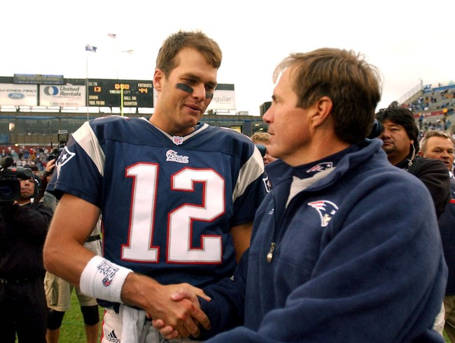 Legendary head coach Bill Belichick seemed paranoid about getting fired by the Patriots heading into the 2001 NFL season