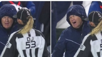 Disgusted Bill Belichick Cursing After Ref's Sideline Explanation During Pats-Ravens Game Becomes An Instant Meme