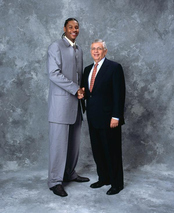 Carmelo Anthony NBA Draft