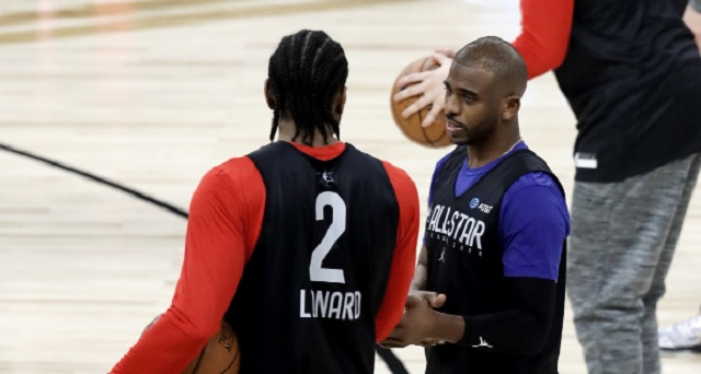 Kawhi Leonard Is Reportedly Recruiting Chris Paul To Join The LA Clippers