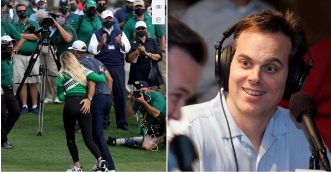 The Internet Reacts To Colin Cowherd's Horny Masters Tweet