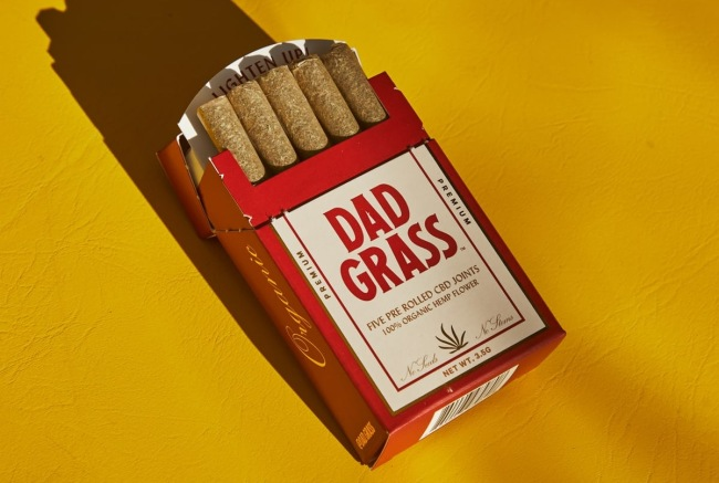 Dad Grass CBD pre-rolled joints