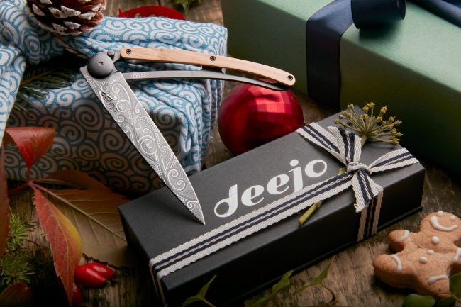 Deejo Knives offers one-of-a-kind holiday gifts this year