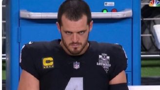 Derek Carr's Angry Stare Becomes An Instant Meme During Raiders-Chiefs Game