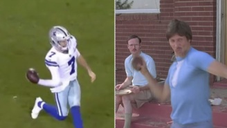 Cowboys QB Ben DiNucci Throws Absolutely Terrible Sidearm Pass And Gets Immediately Compared To Uncle Rico
