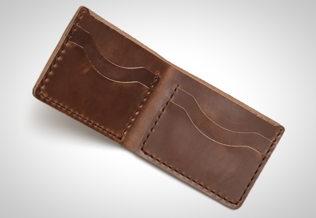 DIY Horween Leather Wallet Kit