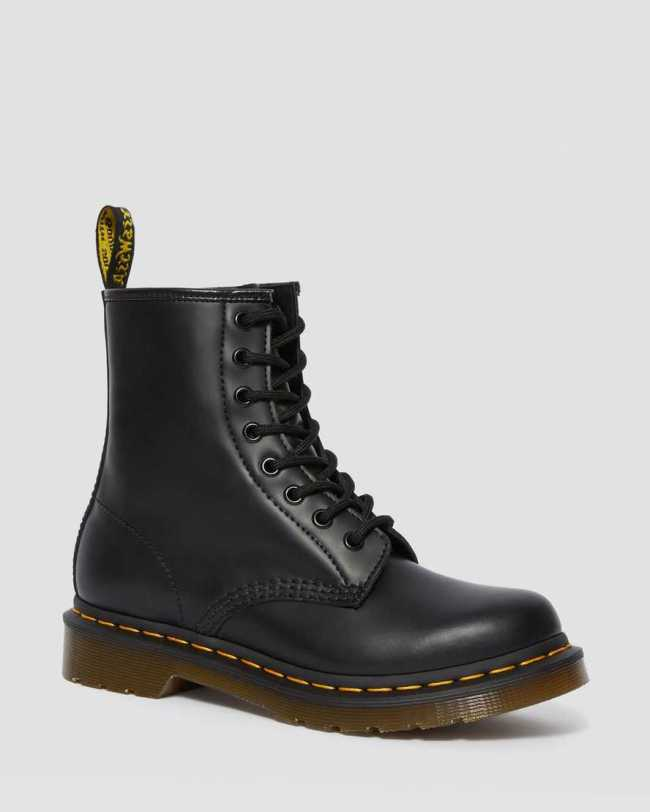 Dr. Marten's 1460 Women's Smooth Leather Lace Up Up Boots