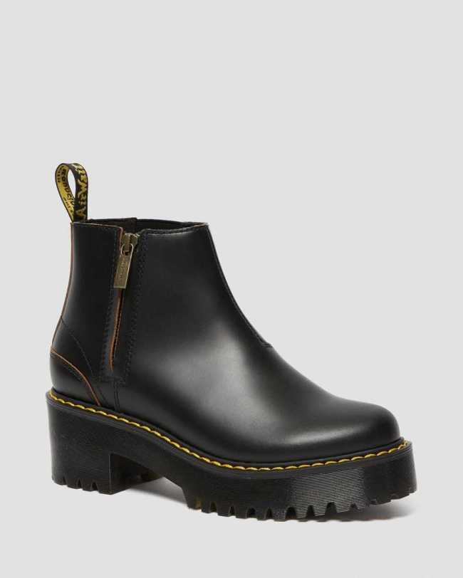 Dr. Marten's Rometty II Vintage Smooth Leather Chelsea Boots