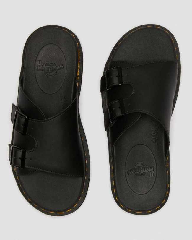 Dr. Martens Dax Leather Slide Sandals