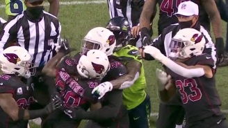 Cardinals' Dre Kirkpatrick Throws Punch At Seahawks' DK Metcalf After Heated Exchange