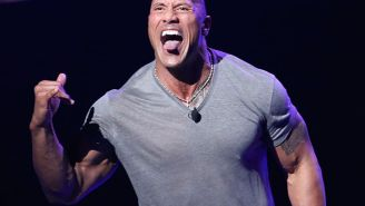 Dwayne Johnson Was Too Jacked To Fit Into A Porsche He Was Supposed To Drive During A Chase In 'Red Notice'