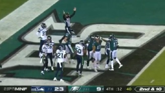 Vegas Crushes Gamblers As 91 Percent Of Those Who Bet On The Seahawks-Eagles Game Lost Money Due To Eagles' Miraculous Hail Mary TD