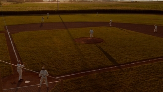 MLB Gives Fans A First Look At The 'Field Of Dreams' Stadium In Iowa Set To Host A Game During The 2021 Season