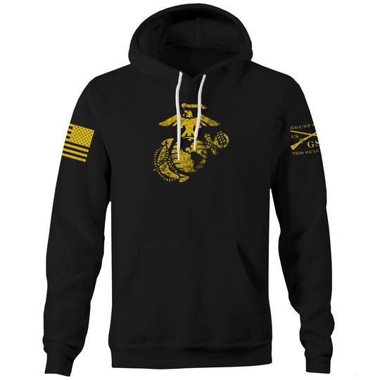 Grunt Style USMC EGA Hoodie