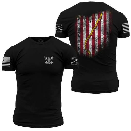 Grunt Style USN Navy Jack Flag
