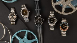 You Can Own Sean Connery's First-Ever Rolex As James Bond Along With Other Some Legendary Hollywood Watches