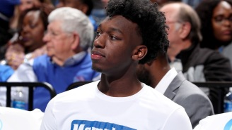 James Wiseman Is An Absolute Moron For Reportedly Not Wanting To Play Alongside Karl Anthony-Towns