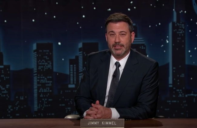 Jimmy Kimmel Halloween Candy Challenge