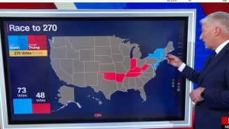 Nervous Election Night Viewers Were Annoyed By CNN's John King Calling The Election Results 'Exciting' And 'Fun'