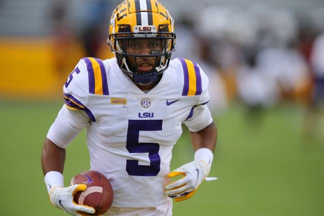 LSU Tigers wideout Koy Moore details allegations of being violated by police during an incident this past Saturday