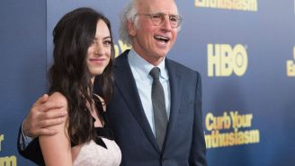 Larry David's Approach To Comforting His Daughter After Pete Davidson Breakup Was Truly Out Of This World