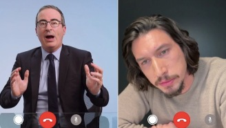 Adam Driver Confronts John Oliver About All The Weirdly Sexual Things He's Been Saying About Him