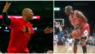 LaVar Ball Doubles Down On Michael Jordan One-On-One Claim: 'He's Too Light In The Ass!'