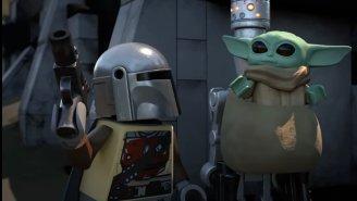 Thought Baby Yoda Was Adorable? Behold… LEGO Baby Yoda!