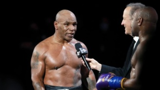 Mike Tyson Says He Smoked A Joint Before His Fight With Roy Jones Jr.