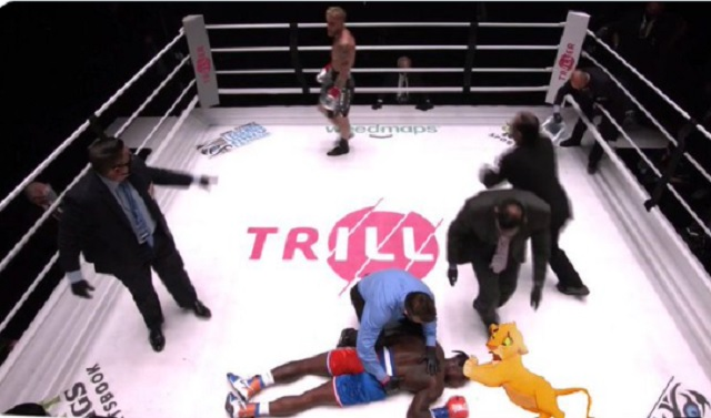 Nate Robinson's Brutal Knock Out Turns Into An Instant Meme