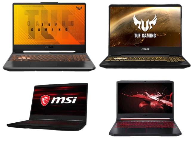 NVIDIA GeForce gaming laptops