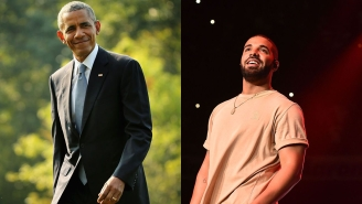 "President Obama Gives Drake ""Permission"" To Play Him In A Movie"