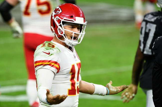 After Patrick Mahomes' kneel downs to closeout a win against the Raiders, one unlucky sports gambler lost thousands