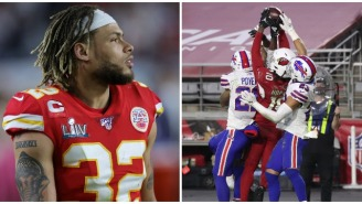 Tyrann Mathieu Clowns The Texans After DeAndre Hopkins' Catch Exposes Their Stupidity Yet Again