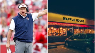 COVID-19 Has Messed With Gus Malzahn's Waffle House Tradition And He's Not Happy About It