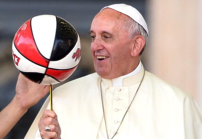 pope francis nba social justice meeting