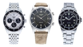 Check Out These One-Of-A Kind Luxury Vintage Watches If You Want To Spend Big Money