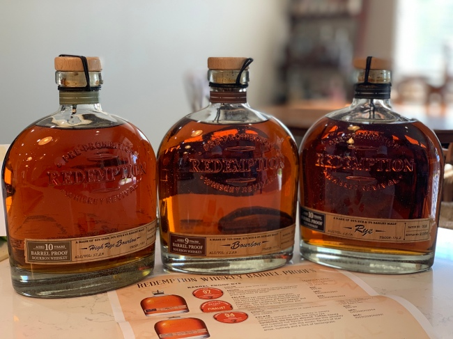 Redemption Whiskey Barrel Proof Selections