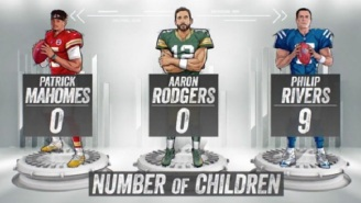 NFL Fans React To Ridiculous FOX Graphic Detailing How Many Children Philip Rivers Has Vs Other QBs In The League