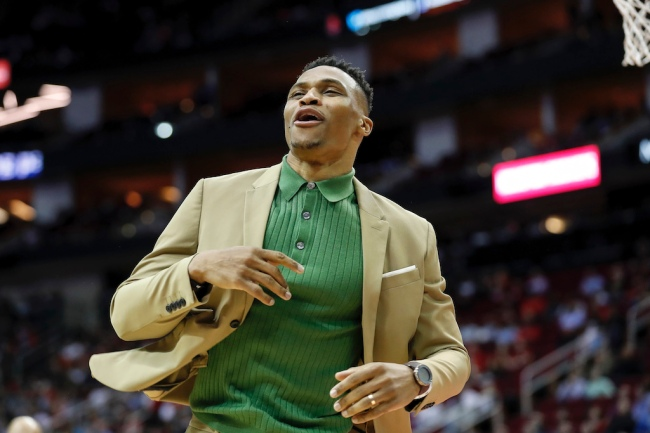 Rockets guard Russell Westbrook has reportedly asked to be traded, and the Charlotte Hornets are allegedly a team who's interested