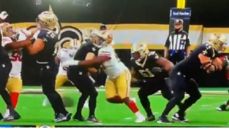 Richard Sherman Blasts Refs On Twitter Over Bogus Roughing The Passer Call During 49ers-Saints Game