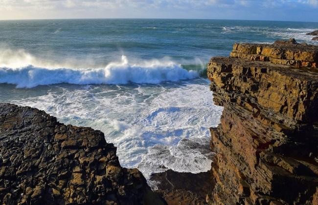 waves in Ireland