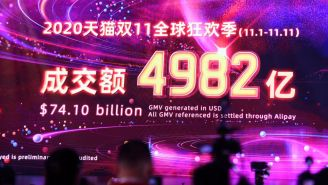 Alibaba's Singles' Day Event Brought In $74 Billion In Sales During The Pandemic